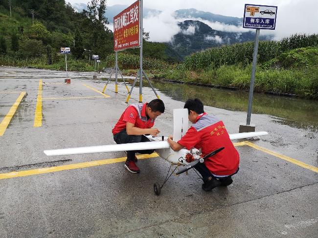 """四川测绘地理信息局认真做好汶川""""8.20""""强降雨洪涝灾害救援测绘保障"""
