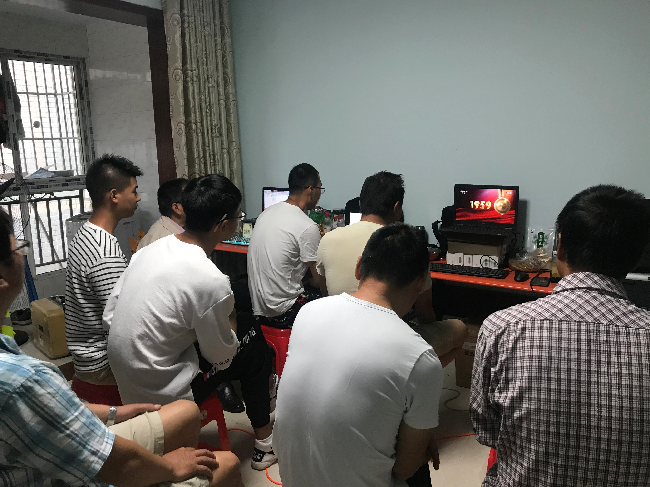 自然资源部第六地形测量队(自然资源部地下管线勘测工程院、四川省第三测绘工程院)西充测区项目部组织收看庆祝中华人民共和国成立70周年大会2